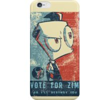 Vote For Zim iPhone Case/Skin