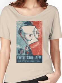 Vote For Zim Women's Relaxed Fit T-Shirt