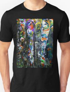 Whirling Petals in a Dark Forest T-Shirt