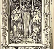Spenser's Faerie queene A poem in six books with the fragment Mutabilitie Ed by Thomas J Wise, pictured by Walter Crane 1895 V1 307 - Her Faithful knight Faire Una Brings by wetdryvac