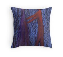 Two Figures Throw Pillow