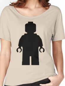 Lego Character Silhouette Women's Relaxed Fit T-Shirt