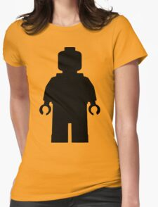 Lego Character Silhouette Womens Fitted T-Shirt