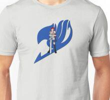 Fariy Tail Anime Erza Blue Unisex T-Shirt