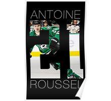 Antoine Roussel #21 Poster