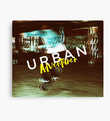 Urban Adventurer Canvas Print