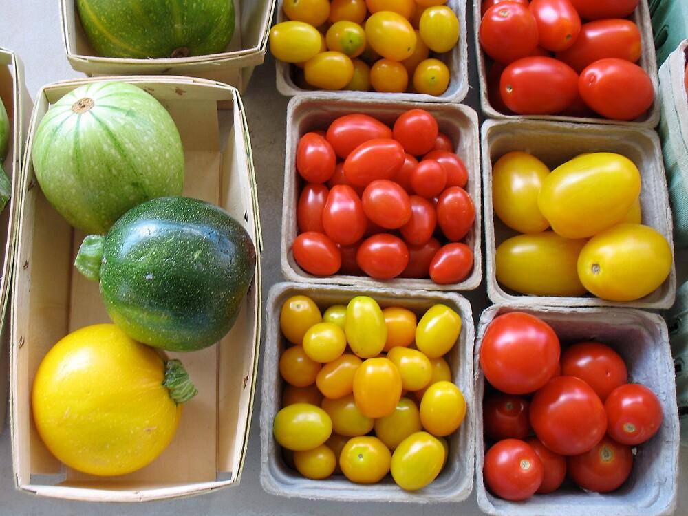 Fruit at Ann Arbor Farmers Market by Roger Wheaton