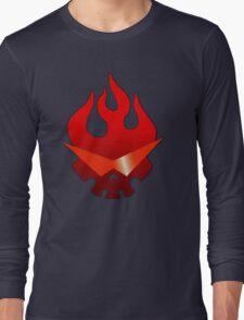 Gurren Lagann - Skull Flame Long Sleeve T-Shirt