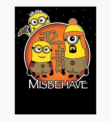 Aim to Misbehave Photographic Print