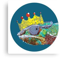 King Chameleon Canvas Print