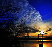 Another Day Ends by Dave  Hartley