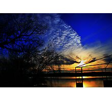 Another Day Ends Photographic Print