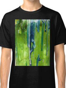 Bluegreen abstract Classic T-Shirt