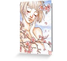 Spring memories Greeting Card