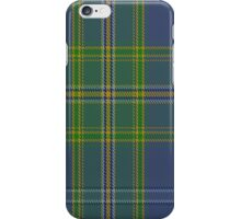 00428 All Ireland Blue District Tartan  iPhone Case/Skin