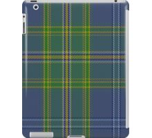 00428 All Ireland Blue District Tartan  iPad Case/Skin