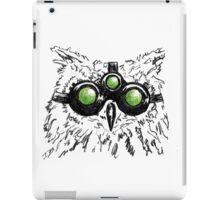 Splinter Owl iPad Case/Skin