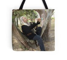 Billy White Fox Tote Bag