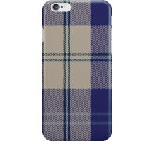 00427 Alisa Royal Blue Tartan  iPhone Case/Skin