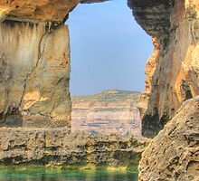 Azure Window, Dwejra, Gozo by Rosalie M