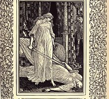 Spenser's Faerie queene A poem in six books with the fragment Mutabilitie Ed by Thomas J Wise, pictured by Walter Crane 1895 V3 47 - Where when confusedly they came they down by wetdryvac