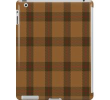 00426 Teddy Bear Tartan  iPad Case/Skin