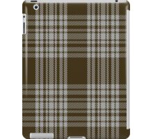 00422 Menzies Brown & White Tartan  iPad Case/Skin