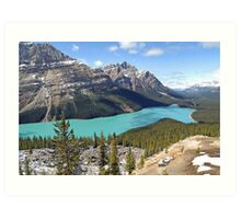 Peyto Lake - Banff National Park - Alberta - Canada Art Print