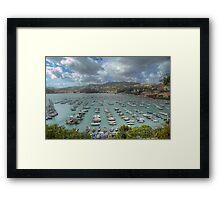 Lerici - The Bay - Italy Framed Print