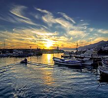 Camogli - Sunset - Italy  by paolo1955