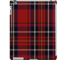 00418 Cornish Brewery Red Tartan  iPad Case/Skin