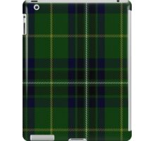 00417 Cornish Brewery, Green Tartan  iPad Case/Skin