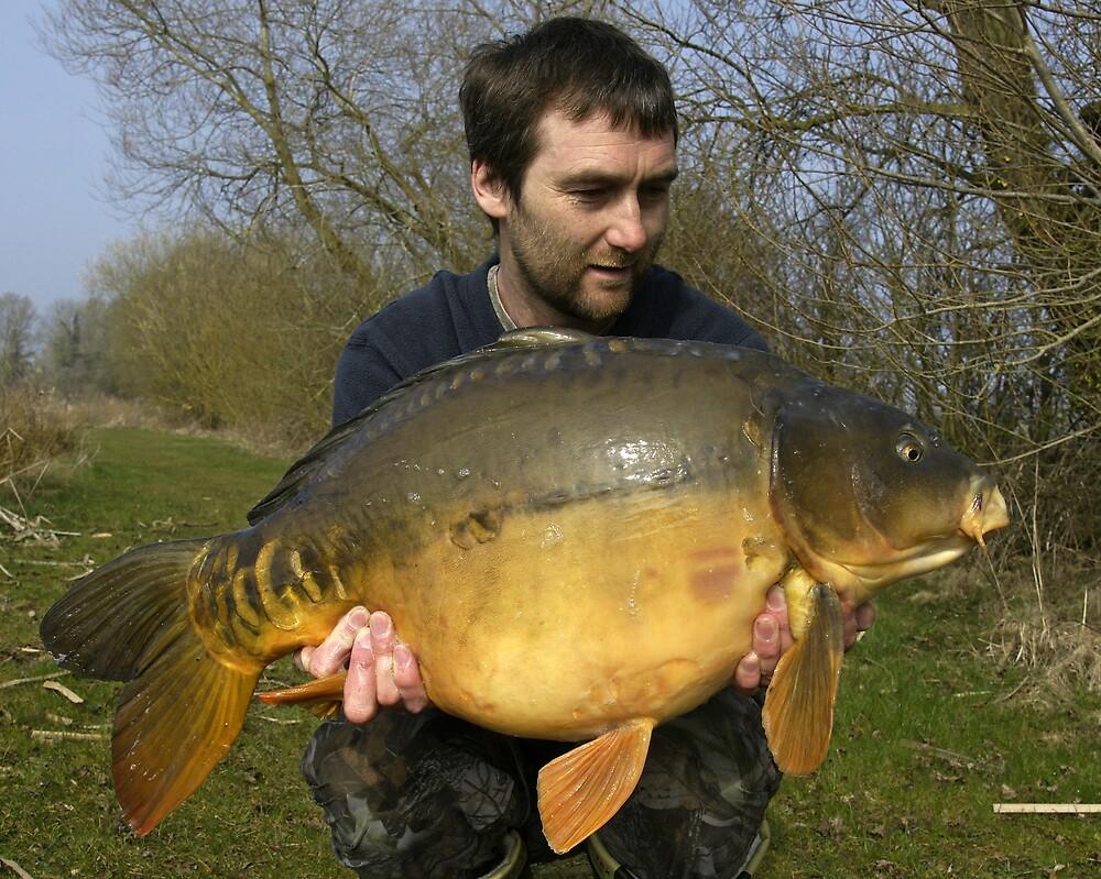 28 lb Mirror Carp by Robert Kendall