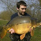 28 lb Mirror Carp by Robert Kendall