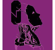 purple oculus  Photographic Print