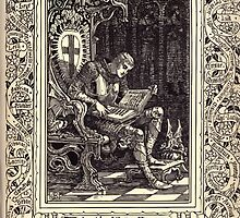 Spenser's Faerie queene A poem in six books with the fragment Mutabilitie Ed by Thomas J Wise, pictured by Walter Crane 1895 V2 237 - A Chronicle of Briton Kings by wetdryvac
