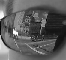 Reflection of Boston by texjoachim