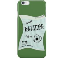 Bazinga Paper iPhone Case/Skin