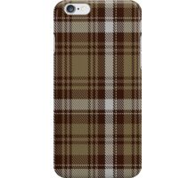 00412 Brown Watch Dress Tartan  iPhone Case/Skin
