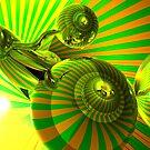 Psy Stripes 2  Brian Dahlen by Brian Dahlen