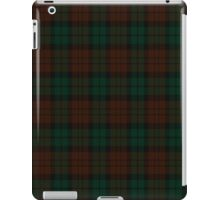 00411 Brown Watch #2 Tartan  iPad Case/Skin