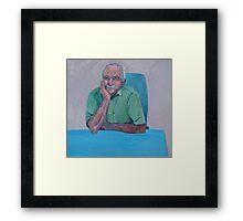 Portrait Graham Exelby  Framed Print