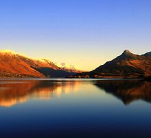 Loch  Leven and The Pap of Glencoe  by Alexander Mcrobbie-Munro