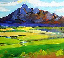 Mt Barney Green by Virginia McGowan