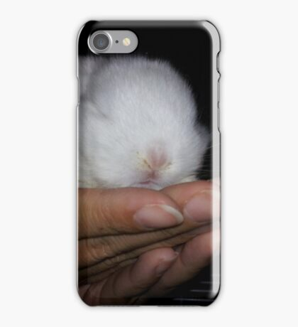 Lindt-free, mini-bunny iPhone Case/Skin
