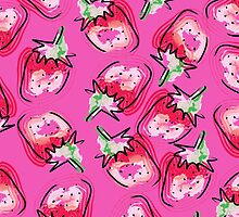 Strawberry Lovers by Damaris Aguilera