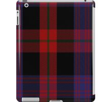 00406 Brown Tartan  iPad Case/Skin