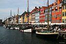 Nyhavn in Copenhagen. by imagic