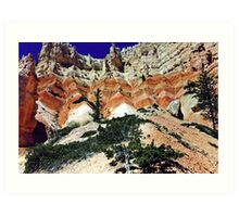 From the Bottom - Bryce Canyon National Park - Utah - U.S.A  Art Print