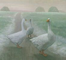Winter Geese by Stephen Mitchell